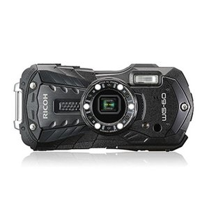 【新品】リコー RICOH WG-60 [ブラック] コンパクトデジタルカメラ|beabea