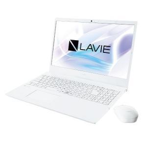 【新品】NECノートパソコン LAVIE Smart N15 PC-SN19CRNAH-2 パールホワイト ※延長保証加入不可 beabea