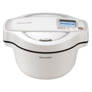 【新品】シャープ ヘルシオ ホットクック KN-HW16F-W [ホワイト系] 電気無水鍋 1.6Lタイプ beabea