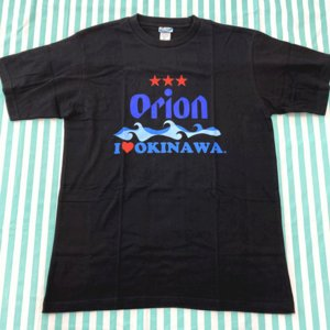 I LOVE okinawaとオリオンのコラボTシャツ Tシャツ, 沖縄シャツ,S ,M, L, 白...