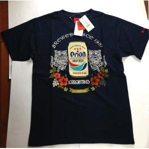 orion Tシャツ  トライバルシーサー,ハイビスカス,okinawaシャツ  サイズ ( S. ...