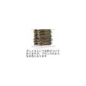 コード類 手芸 アーティスティックワイヤー ノガンメタ(#24) 0.5mm×4.5m|beadsmania-shop
