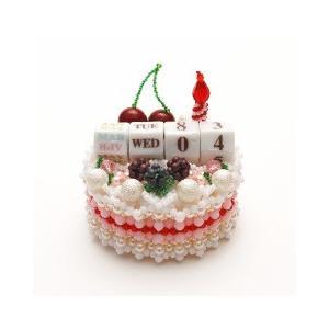 ビーズキット 雑貨 デコレーションケーキのHappyカレンダー  ビーズマニア|beadsmania-shop