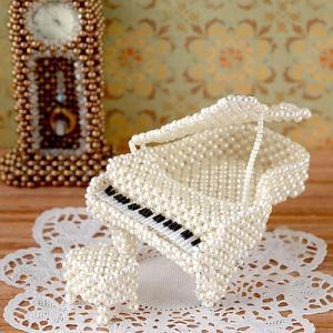 ビーズキット モチーフ ピアノ  ビーズマニア|beadsmania-shop