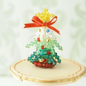 ビーズ キット クリスマス ホビックス スノークリスマスツリー|beadsmania-shop