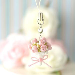 ビーズ キット アクセサリー ホビックス バラの花束ストラップ☆香りつき|beadsmania-shop