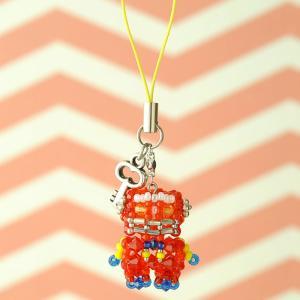ビーズ キット アクセサリー ホビックス メタロボ☆2号レッド|beadsmania-shop