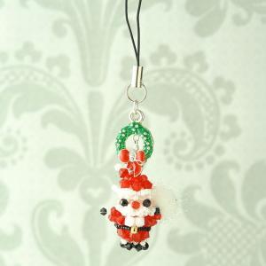 ビーズ キット クリスマス ホビックス サンタさんのクリスマス|beadsmania-shop