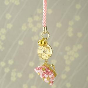 ビーズ キット アクセサリー ホビックス がまぐち財布〜桜〜|beadsmania-shop