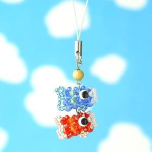 手作りキット 手芸 ビーズキット ハンドメイド 手芸 キット ホビックス こいのぼりストラップ|beadsmania-shop