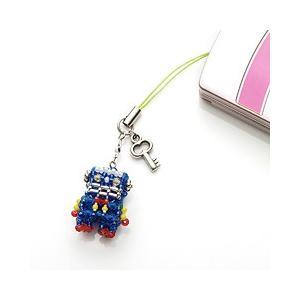 ビーズ キット アクセサリー ホビックス メタロボ☆1号ブルー|beadsmania-shop