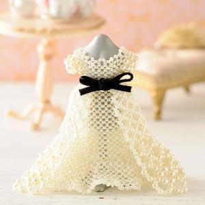 ビーズキット ビーズ キット ウエディング ブライダル 【ミニチュアドレスキット】ingrid wedding beadsmania-shop
