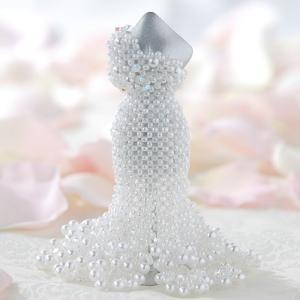 ビーズ キット レシピ 【ミニチュアドレスキット】Lily(ホワイト)|beadsmania-shop