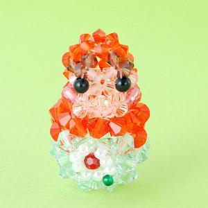 ビーズキット レシピ マトリョーシカ(オレンジ) キット|beadsmania-shop