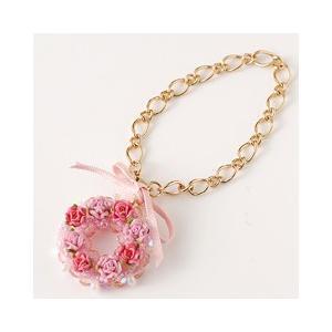 ビーズ キット ホビックス フラワーリース〜ピンク〜|beadsmania-shop