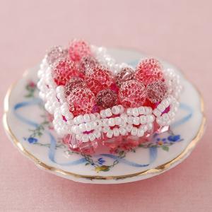ビーズキット レシピ ベリーたっぷりハートのケーキ|beadsmania-shop
