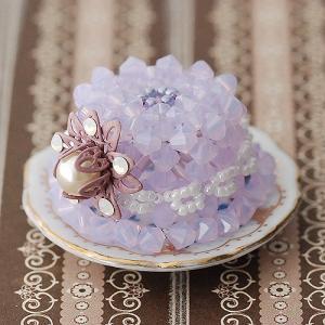 ビーズキット レシピ 帽子の形のかわいいケーキ|beadsmania-shop