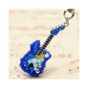 手作りキット 手芸 ビーズキット ハンドメイド 手芸 キット ホビックス エレキギター(青)|beadsmania-shop