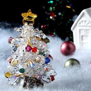 ビーズキット レシピ クリスマスツリー(クリスタル)|beadsmania-shop