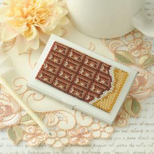 ビーズキット アクセサリー 〜板チョコ〜カードケース  ビーズマニア|beadsmania-shop