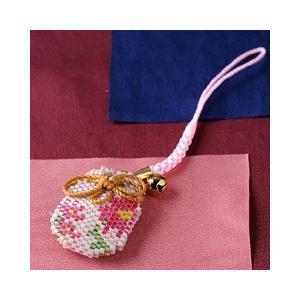 ビーズ キット 誕生花 ビーズファクトリー デリカビーズで作る香袋キット〜コスモス(10月)〜|beadsmania-shop