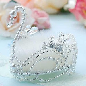 ビーズ キット アクセサリー Laciq Beads クリスタルスワンのリングピロー(ホワイト) beadsmania-shop