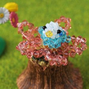 ビーズキット レシピ miniインコ(ブルー)|beadsmania-shop