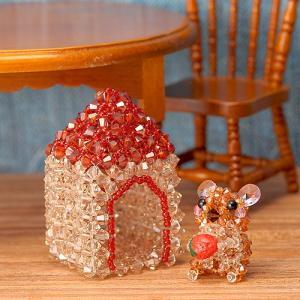 ビーズキット レシピ ナキウサギとお家セット|beadsmania-shop
