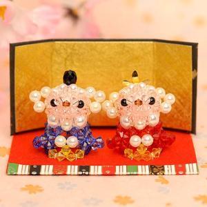 手作りキット 手芸 ビーズキット ハンドメイド 手芸 キット ひな祭り特集 ホビックス ぽかぽか羊のおひなさま|beadsmania-shop