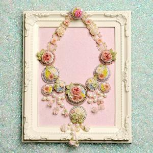 ビーズ 刺繍 キット Flower Garden(コンテスト作品)|beadsmania-shop