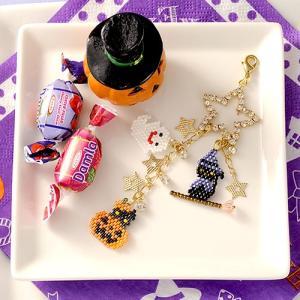 ビーズ キット レシピ ハロウィン☆にゃんこ  ハロウィン特集|beadsmania-shop