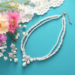 ビーズ キット アクセサリー Laciq Beads アマリリスのネックレス&イヤリング beadsmania-shop