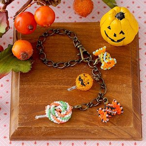 ビーズ キット レシピ Candy party 〜Trick or treat?〜|beadsmania-shop