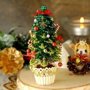 ビーズキット クリスマス クリスマスツリー〜グリーン〜 ビーズマニア|beadsmania-shop