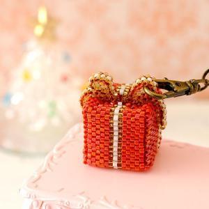 ビーズ キット ハンドメイド Gift box(赤)|beadsmania-shop