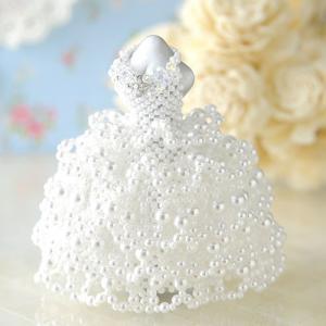 ビーズ キット ブライダル 【ミニチュアドレスキット】Christina wedding/クリスティーナウェディング|beadsmania-shop