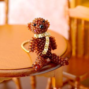 ビーズキット レシピ リルビーベア〜On beads stich〜 beadsmania-shop