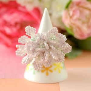 ビーズ キット 指輪 TOHO Fleur Bijoux 〜Hydrabgea あじさい〜 beadsmania-shop