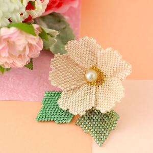ビーズ キット ブローチ TOHO Fleur Bijoux 〜Cherry blossom さくら〜  春特集 beadsmania-shop