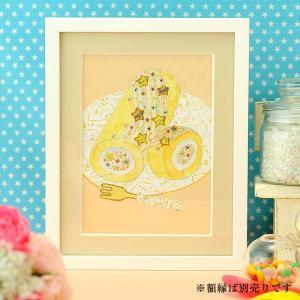 ビーズキット ビーズデコール ビーズファクトリー 〜Beads Decor〜七夕のロールケーキ(7月) ※額は別売り|beadsmania-shop