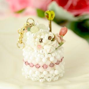 ビーズキット レシピ くまさん☆ケーキ|beadsmania-shop