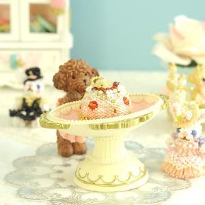 小物入れ 薔薇 〜トイプードル〜マルチトレー|beadsmania-shop