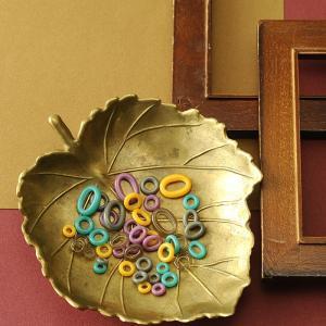 ビーズ とんぼ玉 small loops〜紫〜|beadsmania-shop