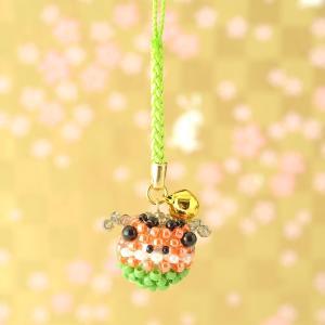 手作りキット 手芸 ビーズキット ハンドメイド 手芸 キット TOHO 福結び2〜ししまい〜|beadsmania-shop