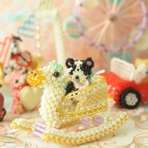 ビーズキット おもちゃ Babyギフト〜ゆらゆら木馬〜 ビーズマニア beadsmania-shop