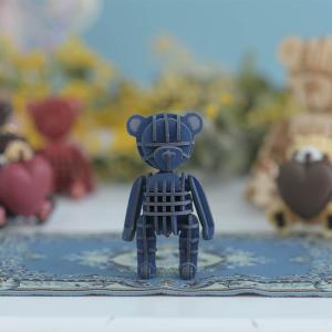 クラフト キット ハンドメイド 手作り  Paper Art si-gu-mi PLUS  テディベア ブルー|beadsmania-shop