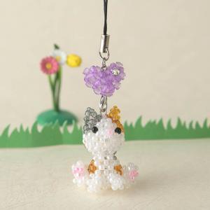 ビーズ キット ビーズキット ハンドメイド TOHO おすわり動物シリーズ ねこ|beadsmania-shop