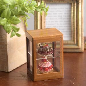 コレクション ミニチュア 棚 ミニチュア木製棚 ブラウン|beadsmania-shop