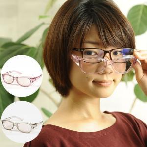 拡大鏡  眼鏡 ルーペ メガネ型ルーペ めがね 両手が使える高倍率拡大鏡(ブルーライトカット) 視力補正|beadsmania-shop