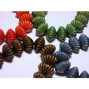 カラーアクリルガライリビーズ2 beadsshopj4